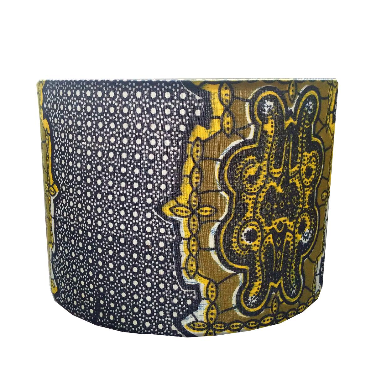 New Lampshade Design Blue Yellow Tribal African Lamp Shade