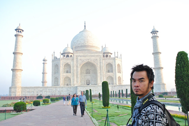 Marky Ramone Go in Taj Mahal