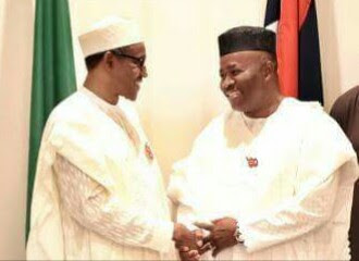 My Heart Was With Buhari In 2015 While Still In PDP - Akpabio