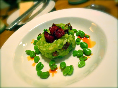 Chorizo, pea and broad bean risotto - Easy week-night supper, economical - Recipe