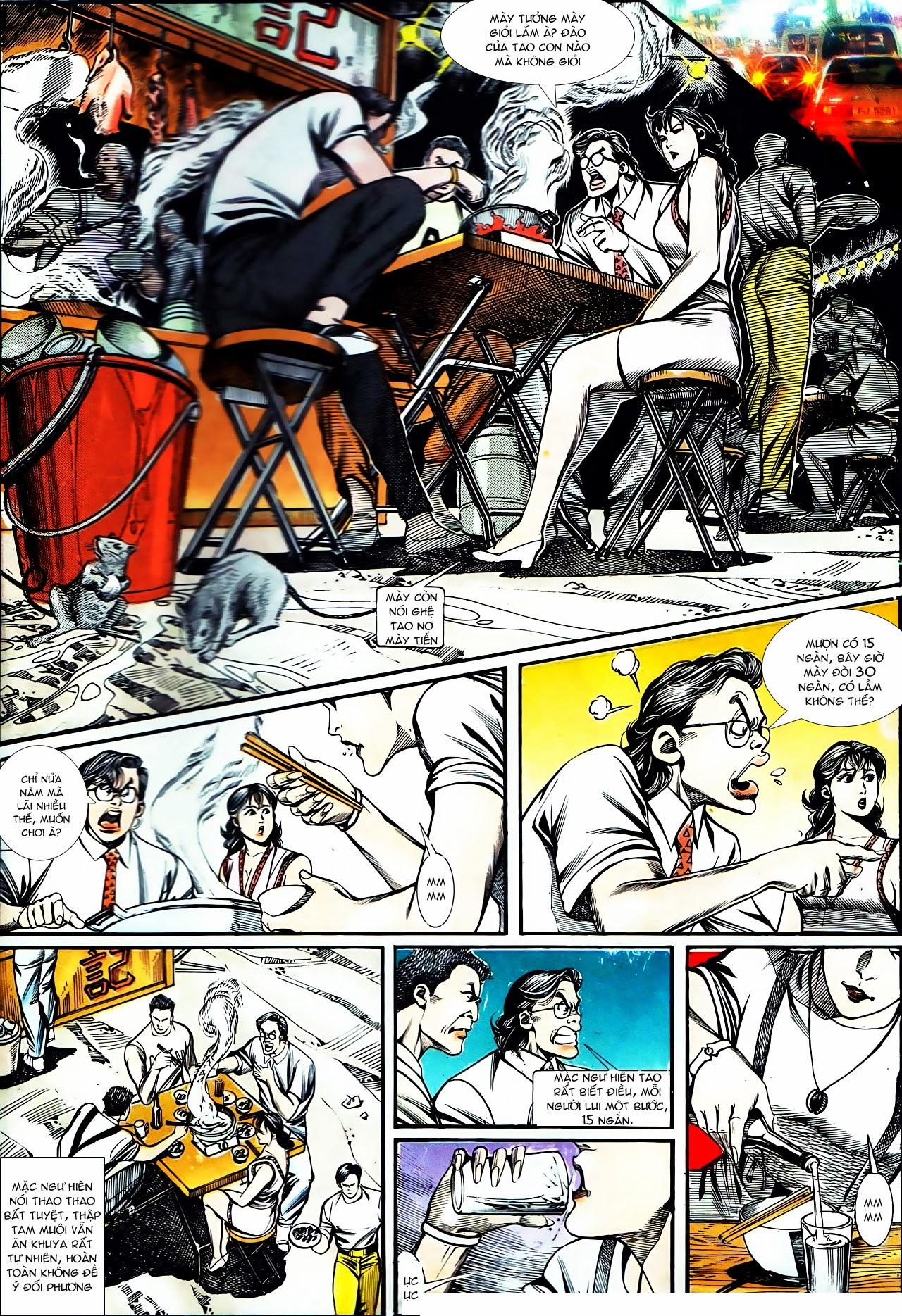 Người Trong Giang Hồ chapter 130: cô ta đến từ giang hồ trang 2