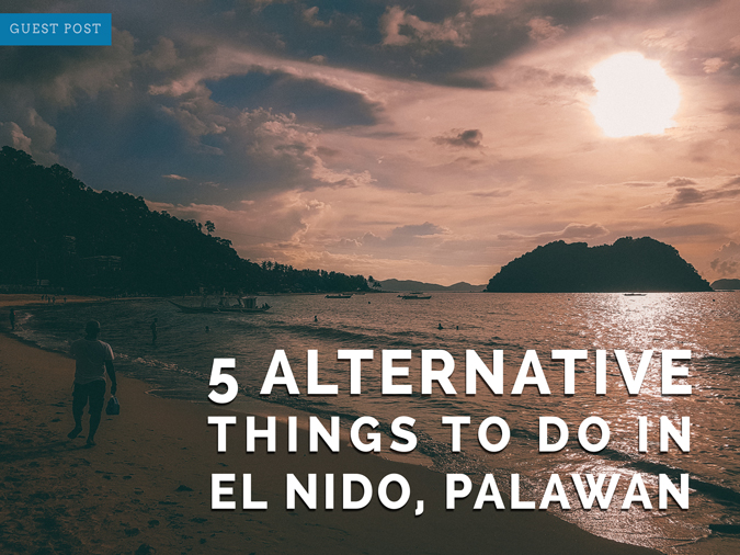 things to do in el nido palawan