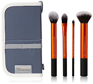 Beauty Make up brush 4 Sets, Deals 10.49 pound Real Techniques Core Collection Kit