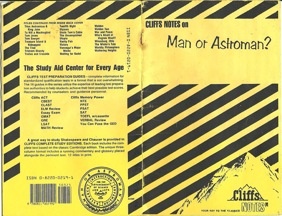cliffsnotes invisible man