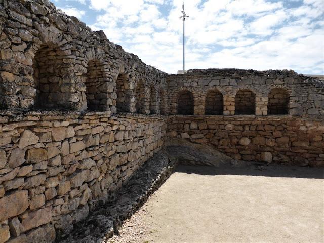 Termas del teatro de Segóbriga