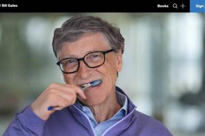 Tidak Ada Tutorial di GatesNotes Blognya Pendiri Microsoft