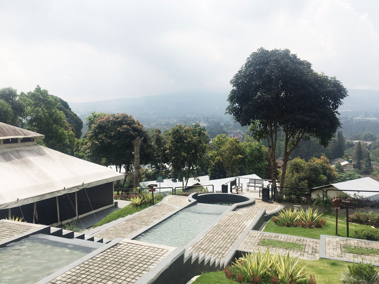 Glamping at Trizara Resort, Lembang