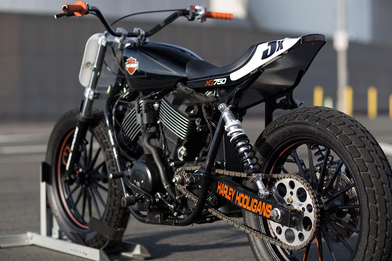 Racing Caf U00e8  Harley Xg 750 Flat Track By Noise Cycles