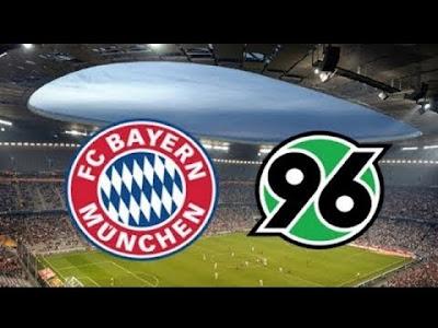 مشاهدة مباراة بايرن ميونخ وهانوفر بث مباشر اليوم