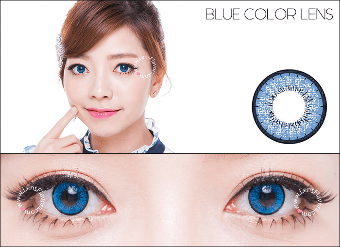 eos new adult blue circle lenses