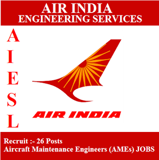 Air India Engineering Service Limited, AIESL, Air India Limited, Air India, Aircraft Maintenance, Delhi, freejobalert, Sarkari Naukri, Latest Jobs, aiesl logo