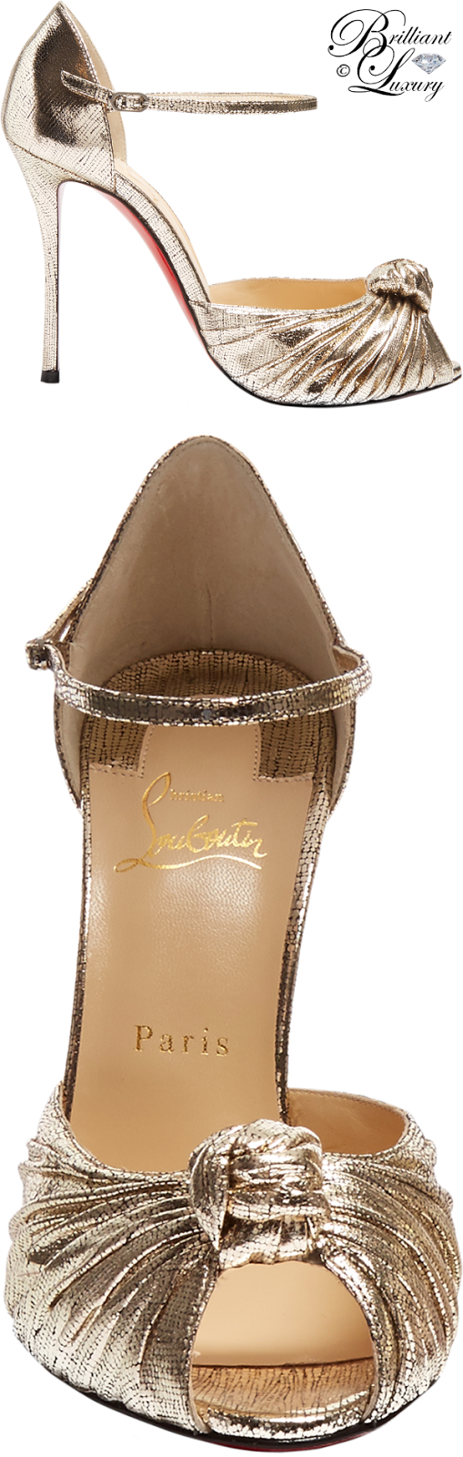 Brilliant Luxury ♦ Christian Louboutin Marchavekel Sandals