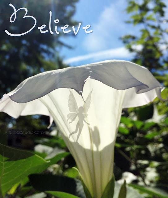 Trumpet Flower Believe