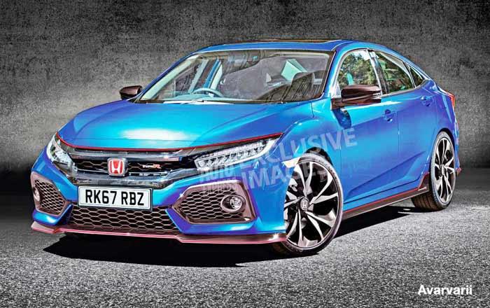 The new 2017 honda civic type r horsepower 340bhp auto for Honda type r horsepower