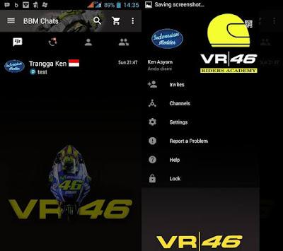 BBM Mod Valentino Rossi 46 v2.13.1.14 Apk