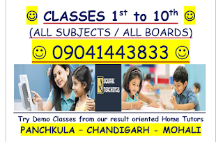 HOME TUITION AND TUTORS IN PANCHKULA