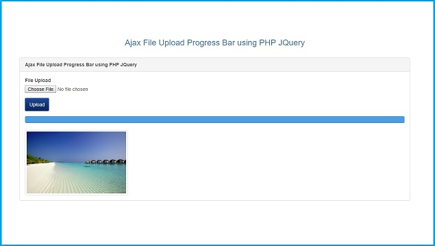 Ajax File Upload with Progress Bar using PHP JQuery | Webslesson
