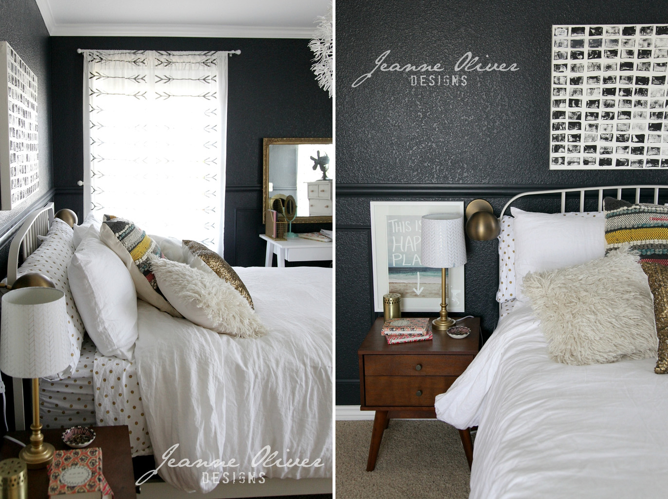Idee per la camera di una ragazza shabby chic interiors for Idee camera