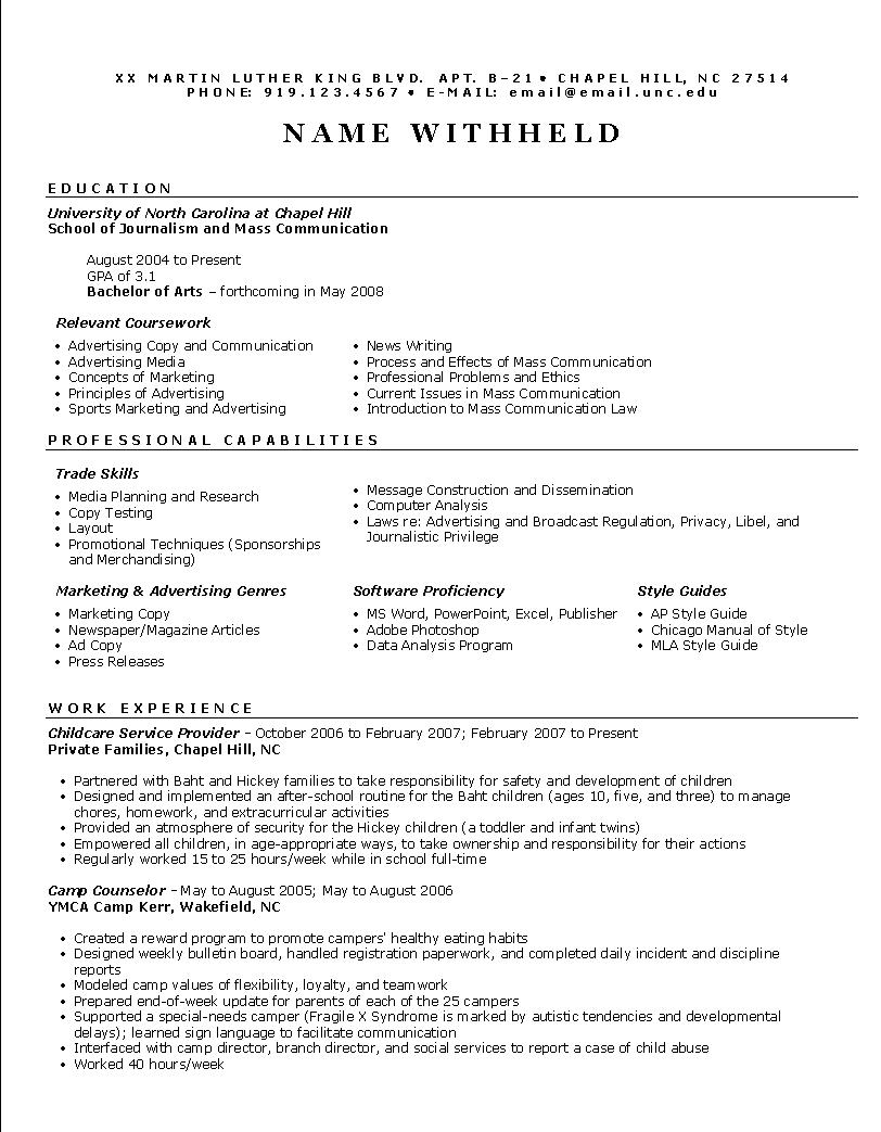 sample advertising manager resume high level executive resume