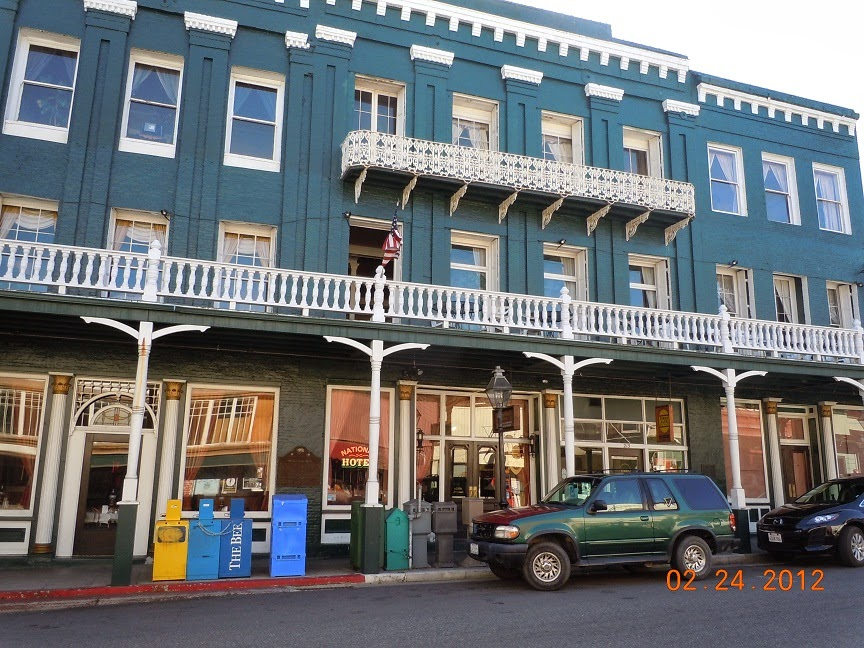 nevada city california hotels