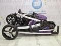 lipat Purple Babyelle S700 Curv2 Lightweight Baby Stroller