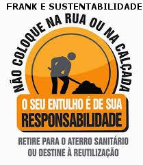 DESTINAÇÃO COM RESPONSABILIDADE DOS RESÍDUOS DE CONSTRUÇÃO CIVIL