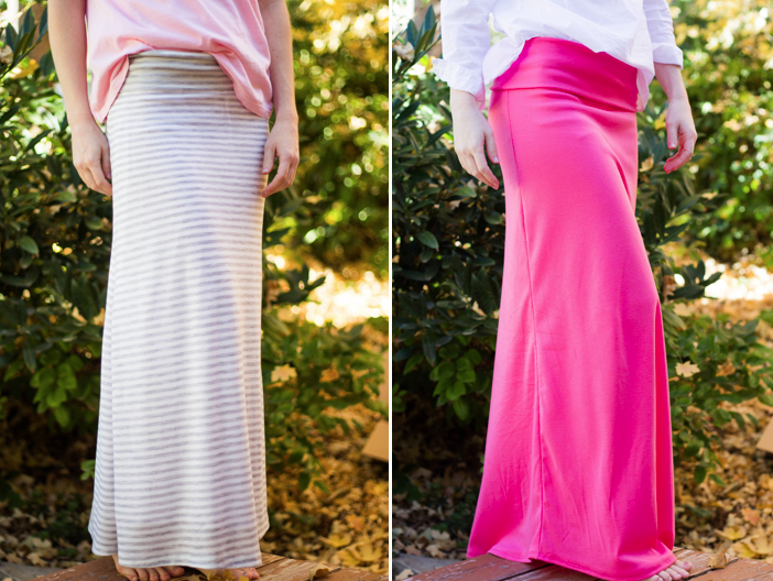 Do It Yourself Divas Diy Maxi Skirt With Yoga Waist Band