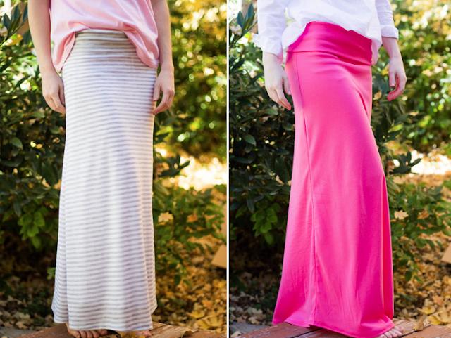 do it yourself divas diy maxi skirt with waist band