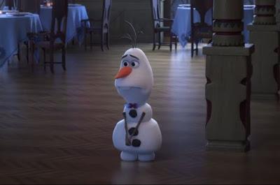 Gambar Petualangan Olaf Frozen Adventure Lucu