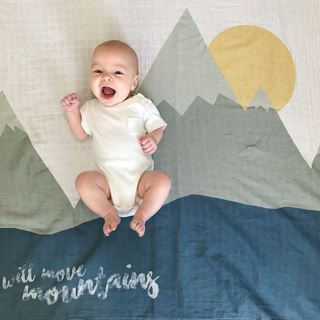 I Will Move Mountains blanket