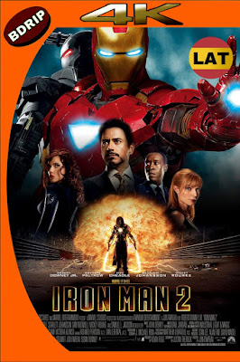 IRON MAN 2 (2010) BDRIP 4K HDR LATINO-INGLES MKV