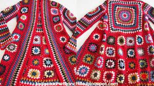 Aprende a tejer tu tapado vintage a crochet ❤ Paso a paso