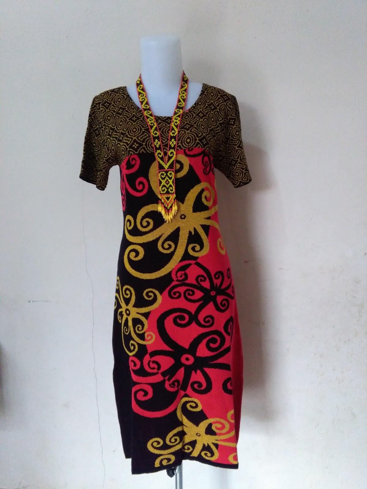 Batik Motif Dayak Khas Kalimantan,