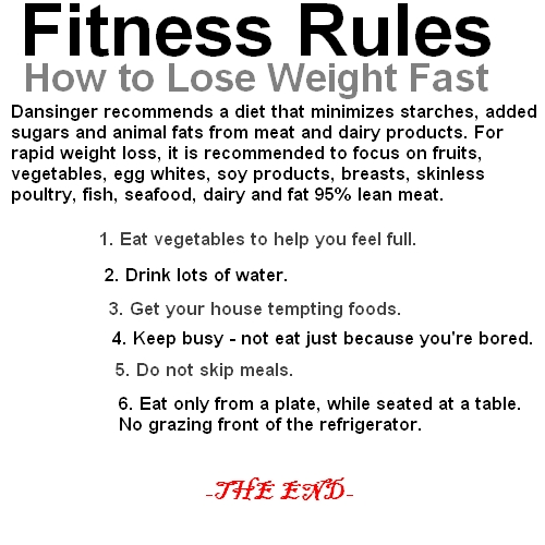 Fitness Rules | houssemg