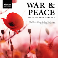 War and Peace - Choir of Jesus College, Cambridge, Mark Williams - SIGCD328