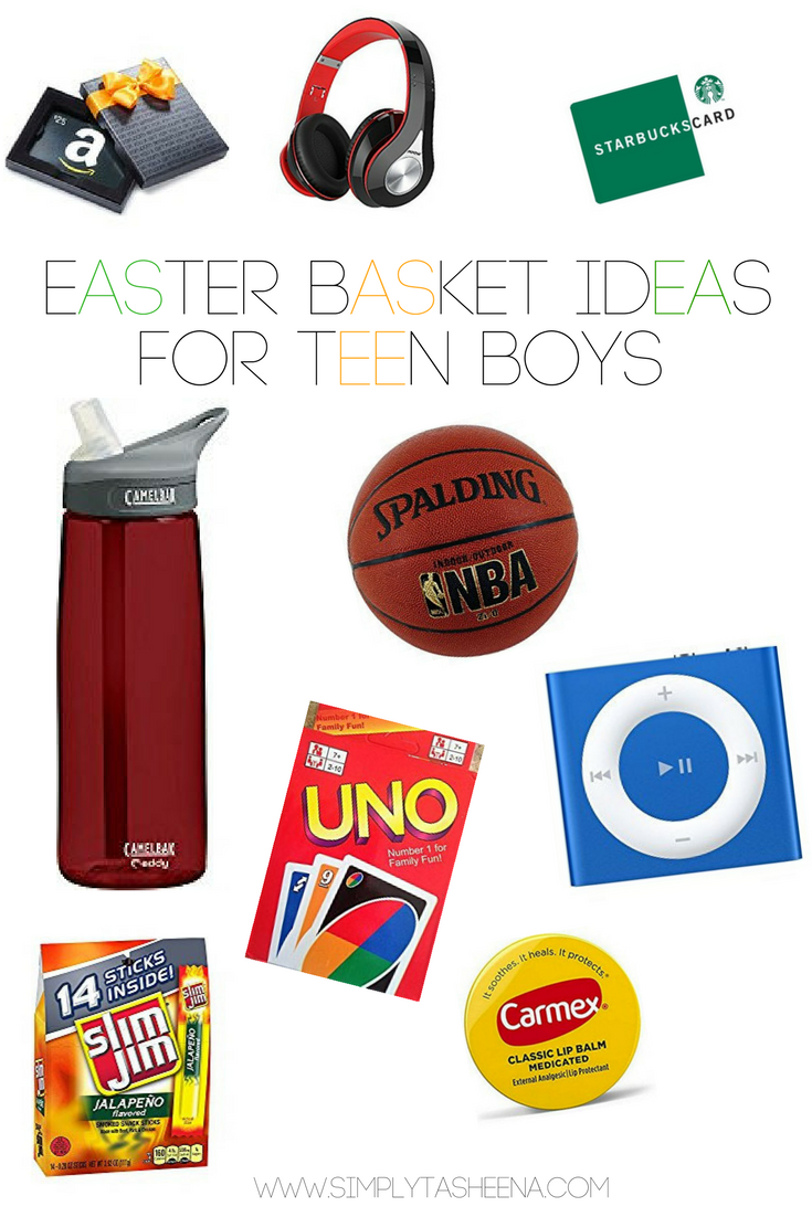 Easter basket ideas for teen boys simply tasheena each year i make easter baskets for the kids one of the hardest tasks is finding stuff to put in a teen boys easter negle Gallery