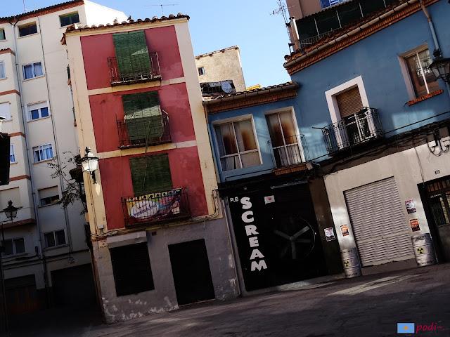 Teruel. Plaza de Bolamar, morada de Abul Amar