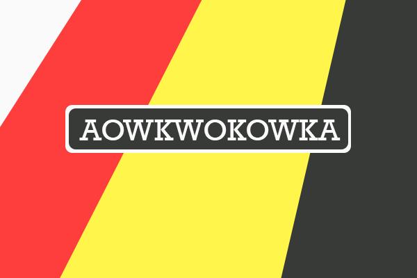 awokaowkaokw