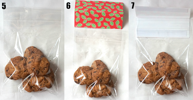 Sherbakes diy christmas cookie bags as gifts