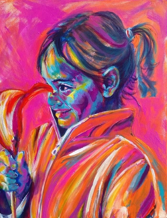 Выразительные и ярко красочные картины