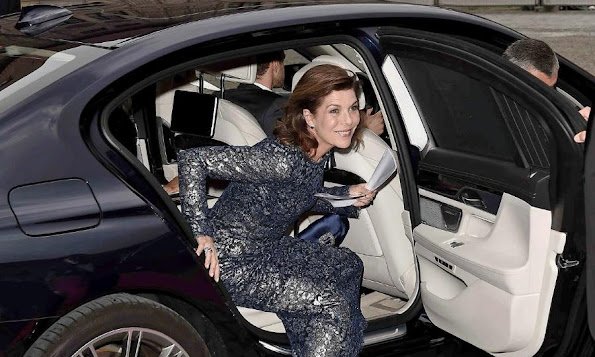 Princess Caroline of Hanover attends the AMADE Deutschland Charity dinner at Residence Museum