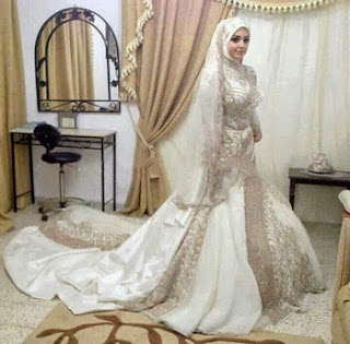 Baju Pengantin Muslim Terbaru