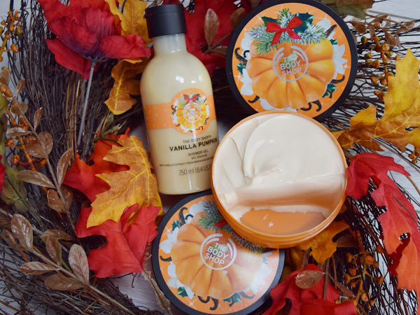 The Body Shop`s Vanilla Pumpkin Shower Gel and Body Butter Review