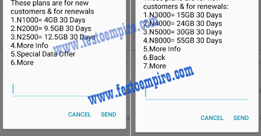 Cheapest Glo Data Planes Now Goes for 9.5GB for 2k, 2GB For 1K etc