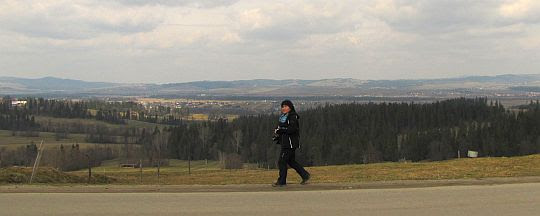 Szlak dalej wiedzie ulicą Świętego Jana Kostki.