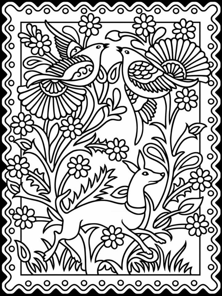 art coloring pages free | Pinto Dibujos: Mandalas de la revolución mexicana para ...