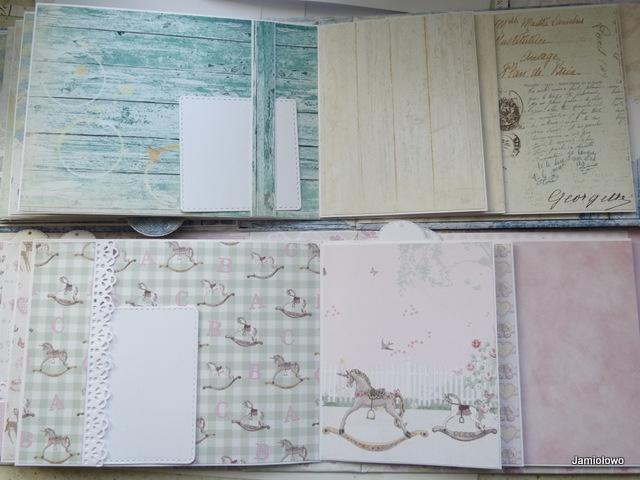 przykłady ozdobienia strony 9 w albumie