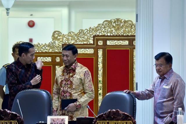 Jokowi: Tahun Baru, Semangat Baru Menuju Indonesia Makmur Berkeadilan