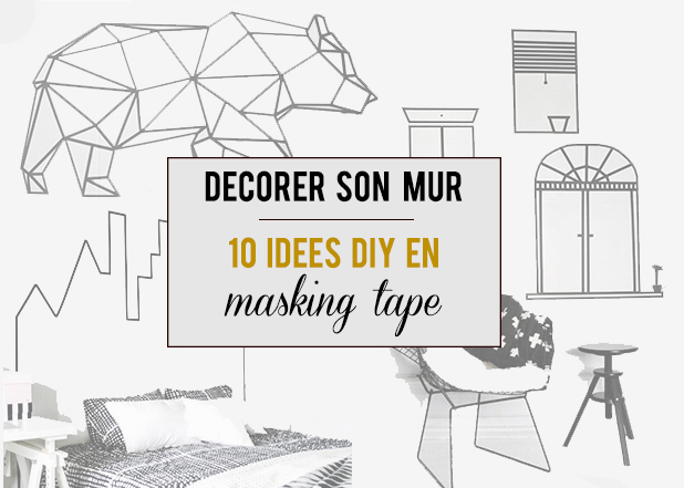 d co murale mini prix 10 diy en masking tape aly 39 s chronicles. Black Bedroom Furniture Sets. Home Design Ideas