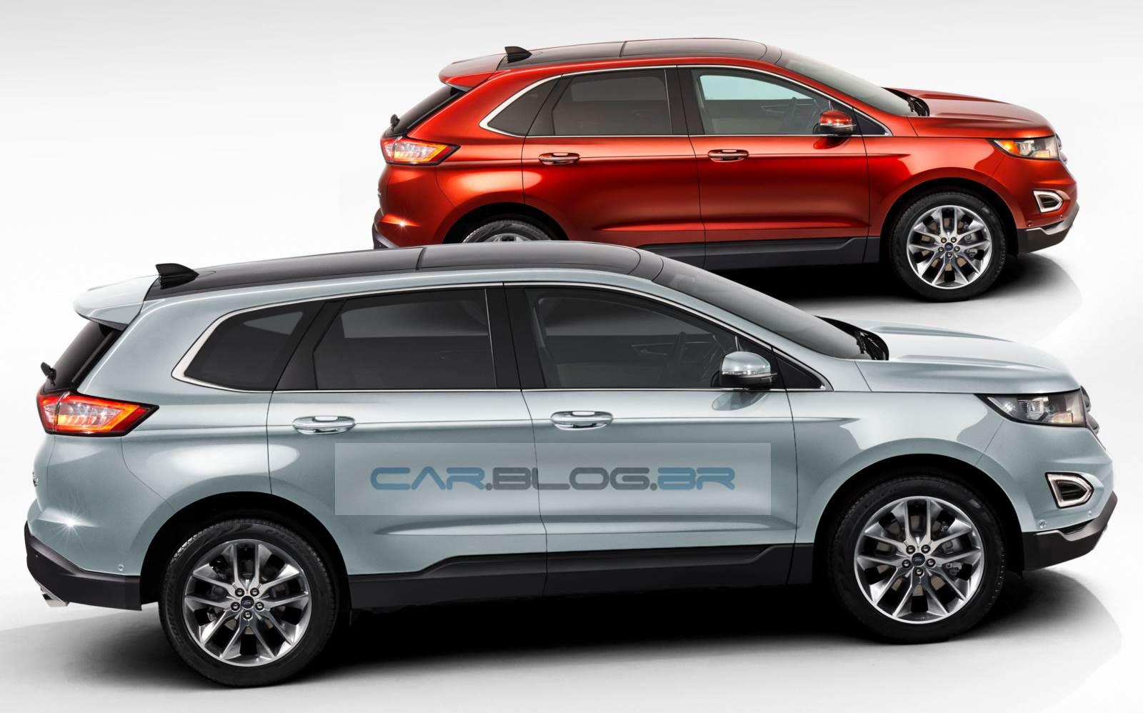 Ford Edge de 7 lugares: imagens antecipam nova versão | CAR.BLOG.BR